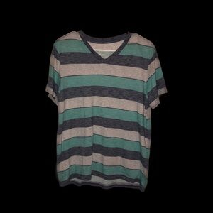 Striped Size Medium Mens T-Shirt